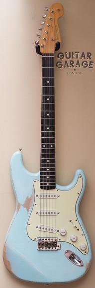 Fender Sonic Blue Stratocaster Relic