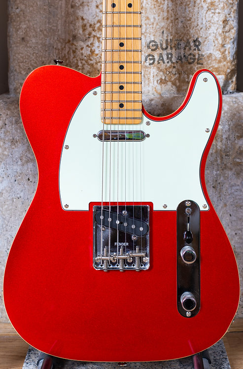 Fender Telecaster - Highway One - Candy Apple Red Double Bound (2006)