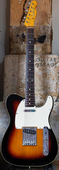 1986 Fender Japan 62 Vintage Reissue Telecaster Sunburst