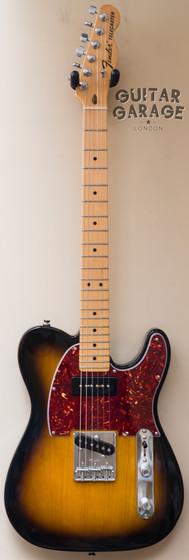 Fender P90 Sunburst Tortoiseshell Ash Telecaster