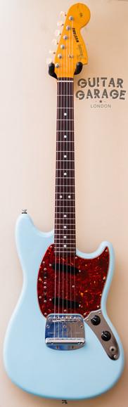 2010 Fender Japan Mustang Sonic Blue Tortoiseshell