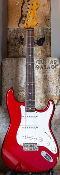1997 Fender USA California Series Stratocaster Candy Apple Red
