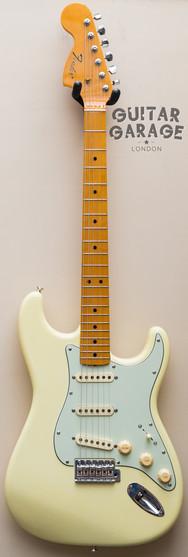 Fender Japan Stratocaster Custom Hendrix Tribute Olympic White