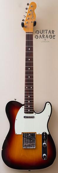 2006 Fender Japan 62 Vintage Reissue Telecaster Custom 3-tone Sunburst