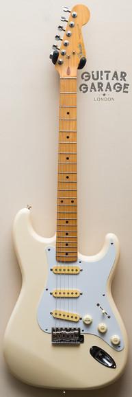 1989 Fender Japan Stratocaster Olympic White