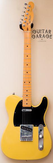 1987 Fender Japan Telecaster Butterscotch Blonde Blackguard