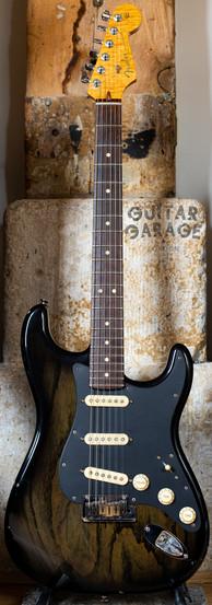 2008 Fender Custom Shop Custom Classic Stratocaster Ebony Transparent Ash