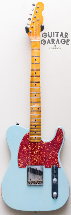 Esquire Custom Sonic Blue