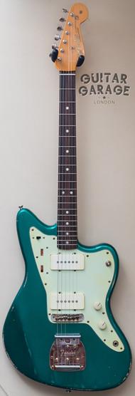 Jazzmaster Sherwood Green worn nitro