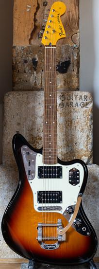 2017 Fender Japan Jaguar Special HH Bigsby 3-tone Sunburst