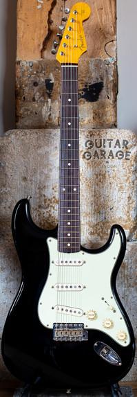 1993 Fender Japan 62 Vintage Reissue Stratocaster Piano Black