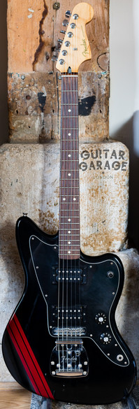 2014 Fender Mexico Limited Edition Competition Stripe Jazzmaster Black