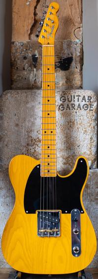 2008 Fender USA '52 Esquire Telecaster Butterscotch Blonde Blackguard