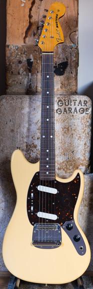 2004 Fender Japan Mustang Olympic White