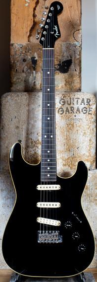2004 Fender Japan Aerodyne Stratocaster Black cream binding