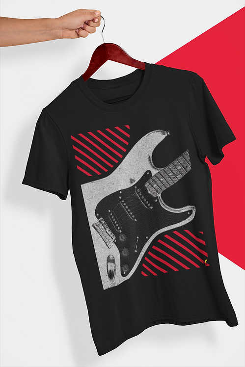 T-SHIRT: Stratocaster (Six Strings Attached Series)