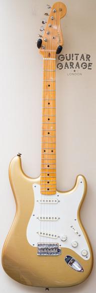 Fender American Vintage 57 Aztec Gold Relic Stratocaster