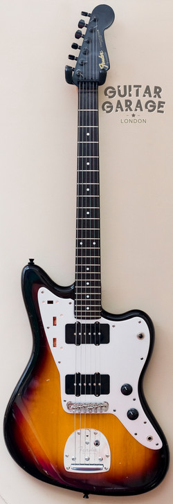Sunburst Black Headstock Jazzmaster