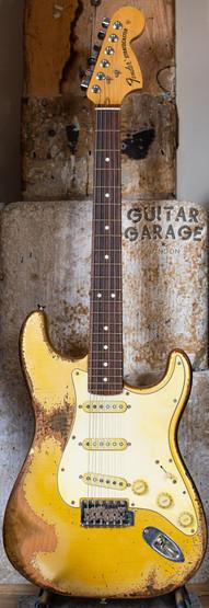 Fender Stratocaster Aged Aztec Gold