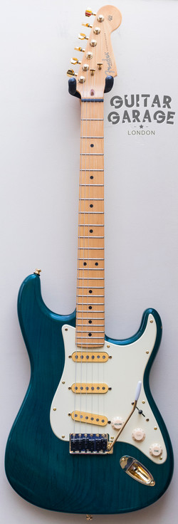 Teal Green Stratocaster