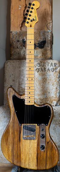 Jazzcaster Telemaster Custom Offset Korina Limba Fender Japan neck