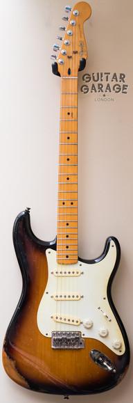 Fender USA Heavy Relic Sunburst Stratocaster