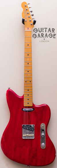 Telemaster Crimson Transparent Red Nitro Reverse Headstock
