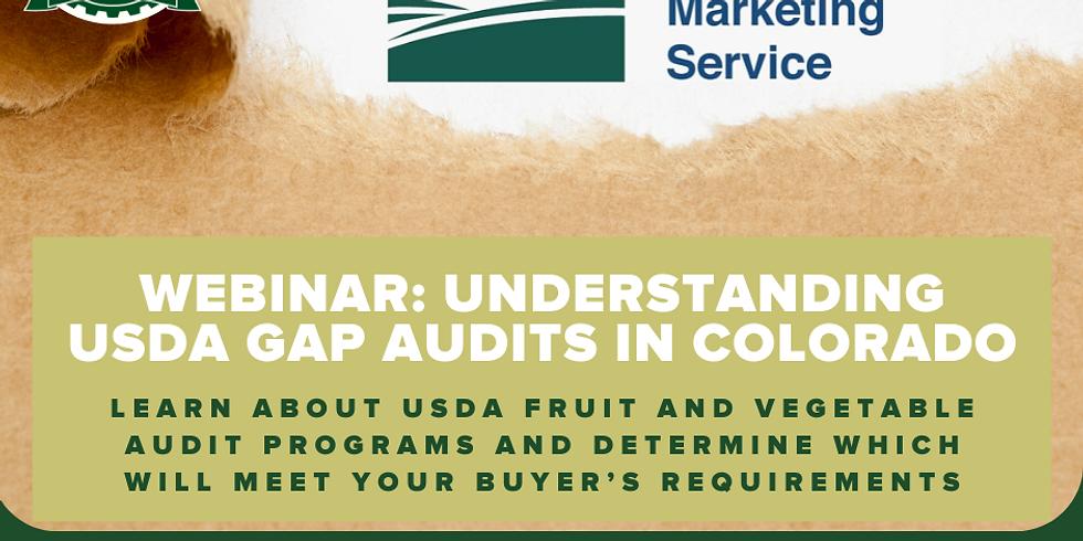 Webinar: Understanding USDA GAP Audits in Colorado
