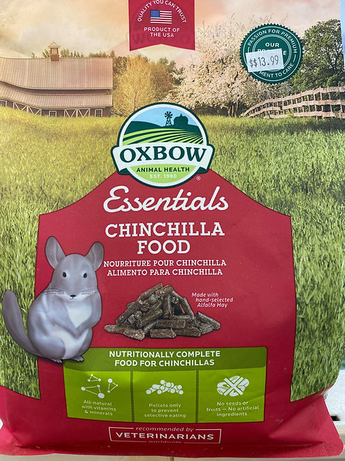3# Oxbow Essentials Chinchilla Food