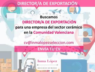Buscamos Director/a de Exportación