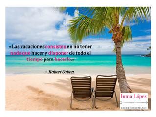 Llegan las Vacaciones para muchos.... Feliz semana a todos y que paséis un fantástico verano!