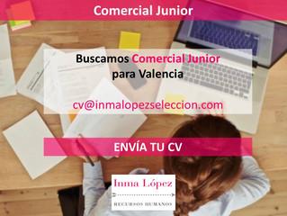 ¡Buscamos Comercial junior para Valencia!