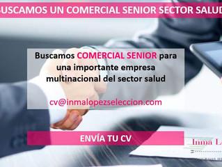 Comercial Senior Sector Salud - Valencia
