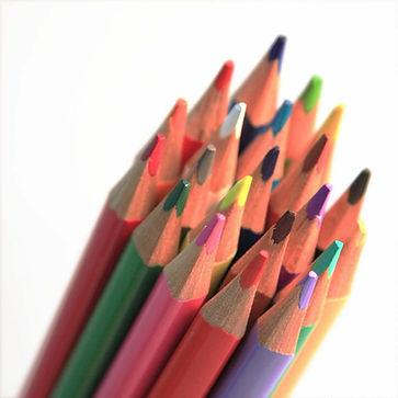 Formación para empresas e instituciones, lápices de colores