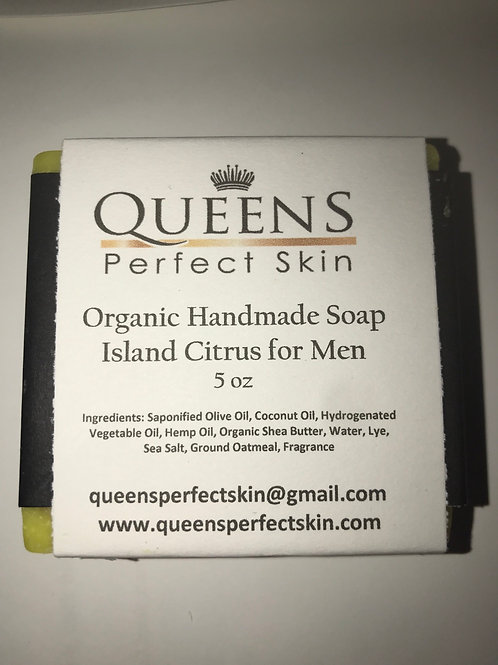 ORGANIC BATH SOAP - Island Citrus for Men