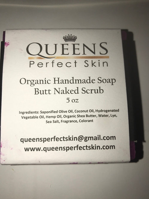 Organic Bath Soap - Butt Naked