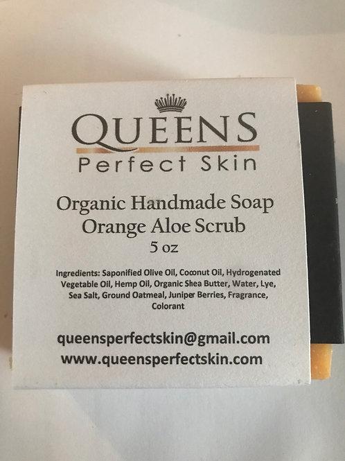 ORGANIC BATH SOAP - Orange Aloe Scrub