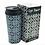 Frente com caixa do Copo Térmico Malibu Geométrico 500ml - ArteNac