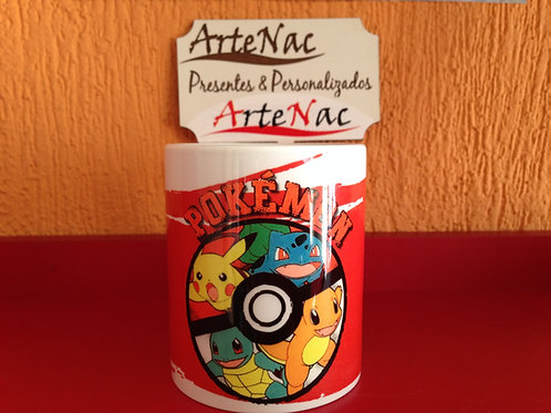 Caneca Pokemon - frente