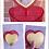 Caixa Porta-retrato - Coração - Vermelho - Acrílico - Demo2