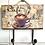 Gancho Decorativo de Madeira - Porta-toalha Modelos Vintage Café Chá