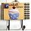 Gancho Decorativo de Madeira - Porta-toalha Modelos Vintage Gumball