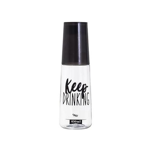 Frente Garrafa Moringa Plástica - Keep Drinking