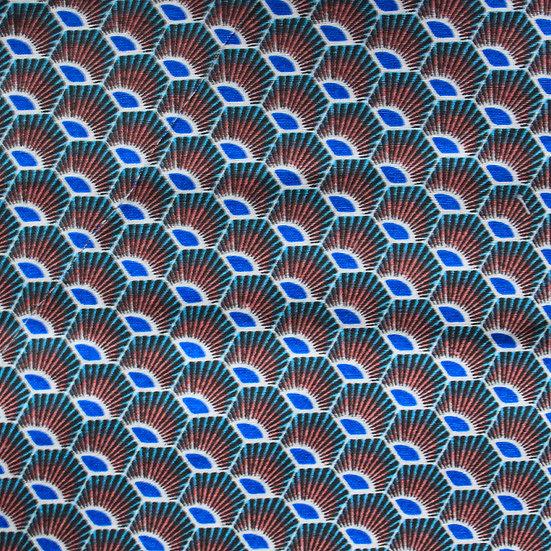 Tissu Paon