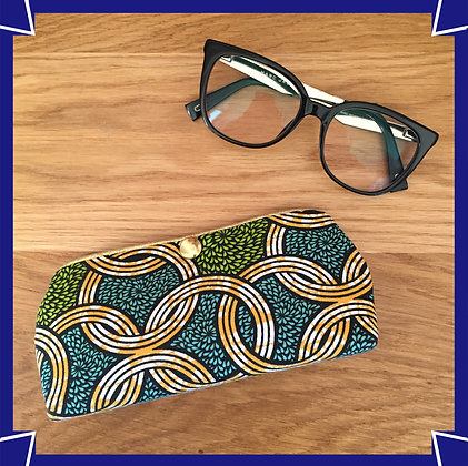 Etui à lunettes African style