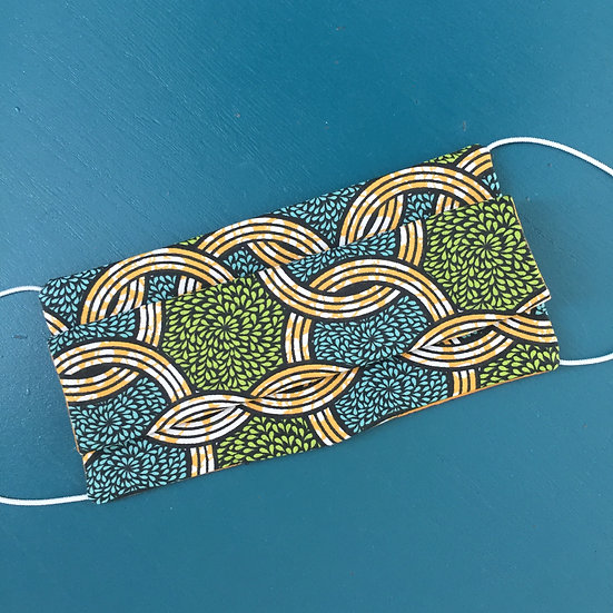 Masque tissu African Style (normes Afnor)