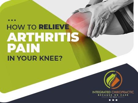Say NO to Arthritis Pain!