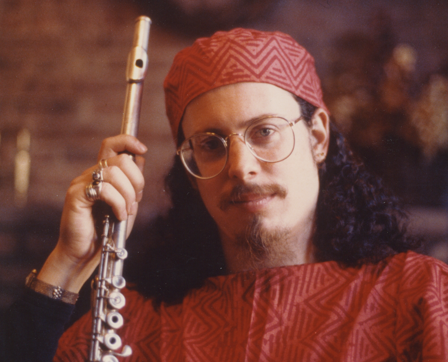 Tom flute Terri shot