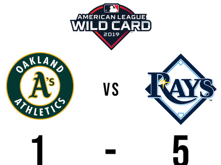 American League WildCard: Rays Slug 4 Homers to beat A's 5-1