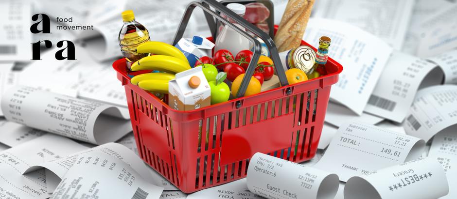 Quanto custa um alimento caro?